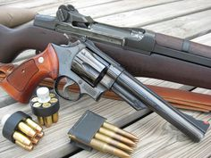 SW .44 magnum and M1 .30-06