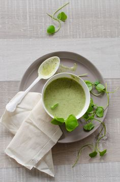 Lemony Fennel, Baby Pink Turnip And Watercress Soup Recipes ...