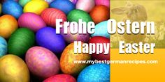 Frohe Ostern - Happy Easter!