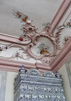 Rundale Palace, Latvia - ceiling detail