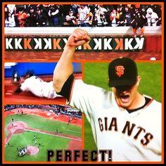 Matt Cain's Perfect Game, June 13, 2012 #SFGiants #PerfectCain