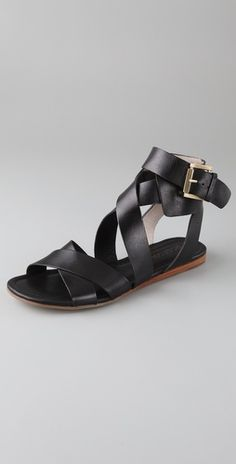 ankle cuff sandals. These remind me of saltwater sandals but for adults