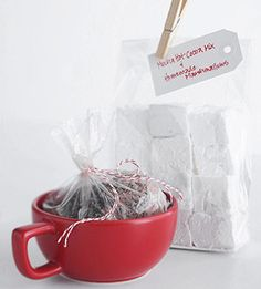 love this idea for christmas gifts - homemade marshmallows!