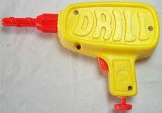 MATTEL: 1972 Tuff Stuff Drill #Vintage #Toys
