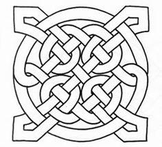 Celtic Knots on Marcel's Kid Crafts