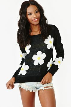 Sundown Daisy Knit in Clothes at Nasty Gal