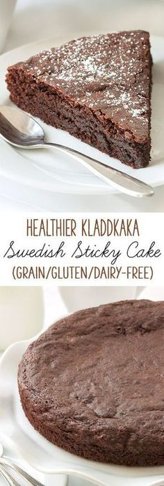 This kladdkaka, also