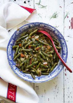 fassoulia... green beans!