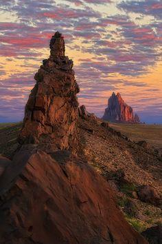 Sunrise - Shiprock, New Mexico