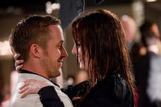 Still of Ryan Gosling and Emma Stone in Loco y estúpido amor