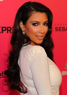kim kardashian, love her hair!