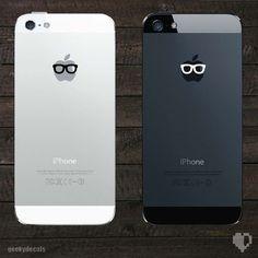 geek, iphone 5s, iphon decal, ios app, gadget