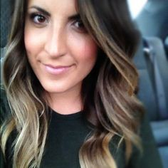 Ombre Hair Color for Brunettes | am enjoying my ombre hair more than ever this summer!
