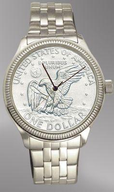 Apollo Landing Uncirculated Coin Watch