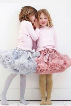 Frilly Tutus for Little Girls #modainfantil invierno