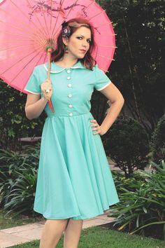 vestido pin up classica!