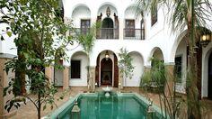 stunning courtyard pool
