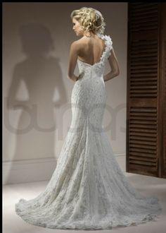 One sleeve wedding dress