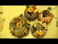 ▶ Graphic 45 Pumpkin Patch Tutorial - YouTube