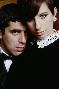 Barbra Streisand and Elliot Gould