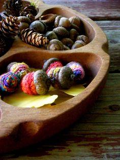 Tutorial Crochet Acorns
