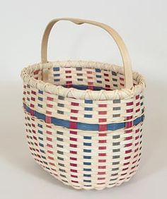 SpringtimeTote-Free pattern from The Basket Makers Catalog