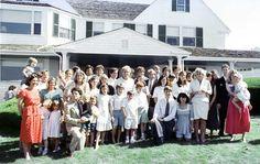 Grandchildren and great grandchildren of original Kennedy clan, Hyannisport
