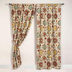 Suzani Print Curtain Panel | World Market