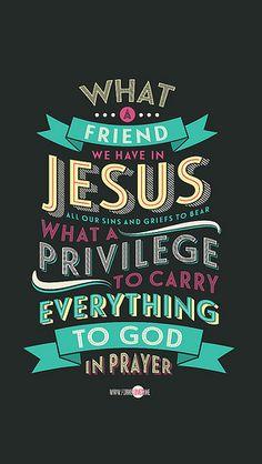 What a Friend We Have #faith