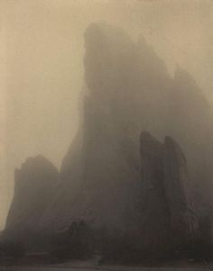 Laura Gilpin - Ghost Rock, Colorado Springs (1919)