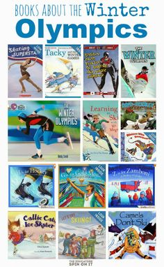 Books about the Winter Olympics plus activities from Kim and Amanda at The Educators' Spin On It