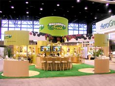 Very inviting booth with various functional spaces -- VacuWare booth, Intl. Home & Housewares Show by Don Wright, via Behance