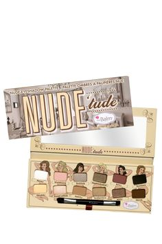 Nude'tude Eyeshadow Palette on HauteLook - Love the packaging!