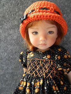 Smocked-Dress-for-Effner-Little-Darling-13-doll-by-lkb. SOLD for $43.89 on 9/21/14.