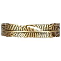 Plume Bracelet ($55) ❤ liked on Polyvore