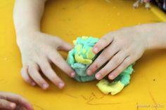 Host a play dough party - simple, creative fun!