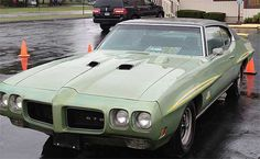 """1970 Pontiac GTO (""""The Judge"""") roars off for $25,875 at Tim's, Inc ..."""