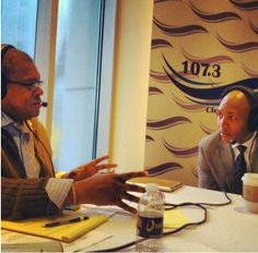 Mark Ribbins talking live with Marcus Glover, General Manager of Horseshoe Cleveland, on 107.3 The Wave on #NYE. For more details on the @Horseshoe Cleveland go to horseshoecleveland.com. #CLE #Cleveland #Casino #Horeshoe #Skywalk