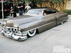 rod, caddi, 51cadillac, bike, classic cadillac, 1951 cadillac, car motorcycl, custom classic cars, lowriders cars