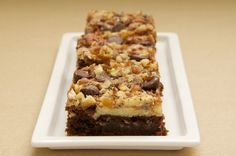 Cream Cheese Brownies with Toffee and Pecans | Bake or Break