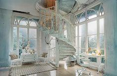 spirals, stairs, dreams, window, stairway