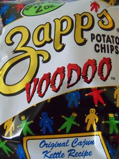 Zapps Voodoo Chips...my favourite, wish we could get them in Florida!