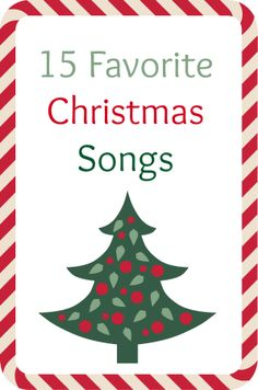 My 14 favorite Christmas songs... which ones would you add to my list?? http://www.musingsofahousewife.com/2013/11/my-favorite-christmas-music.html