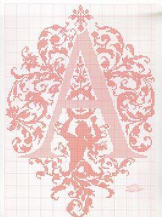 Gallery.ru / Фото #27 - ALFABETO - samlimeq monogram cross stitch