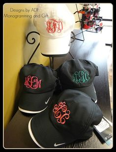 Nike Golf Dri-Fit Monogrammed Cap on Etsy, $34.99
