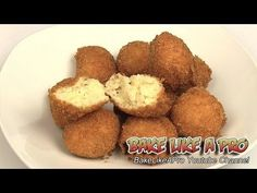 Deep fried potato balls recipe ! Please SUBSCRIBE: http://bit.ly/1ucapVH  A nice crunchy exterior, and super moist and soft potato inside.  You'll really enjoy these and they are super easy to make !  I'll show you how to make these delicious deep fried potato balls from start to finish using simple ingredients !  My Facebook Page: http://www.facebook.com/BakeLikeAPro My Twitter: http://twitter.com/BakeLikeAPro http://instagram.com/bakelikeapro Pinterest: http://www.pinterest.com/BakeLikeAPro
