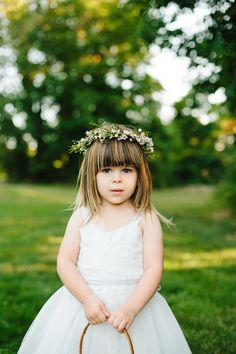 precious flower girl // photo by Levi Stolove