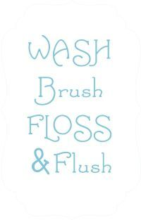 Wall stencil quotes on pinterest for Bathroom quotes svg