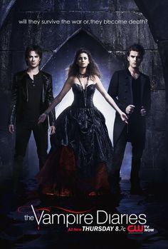 the vampire diaries season 1 posters   TVD:IV survive or Die Promo Poster - The Vampire Diaries Photo ...