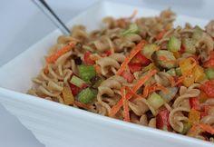 Vegan BBQ Bash: Veggie-Packed Pasta Salad